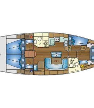 Sailboat Bavaria Cruiser 46 · 2005 (refit 2013) (3)