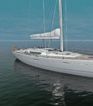 Sailboat Beneteau Oceanis 54 · 2012 (3)