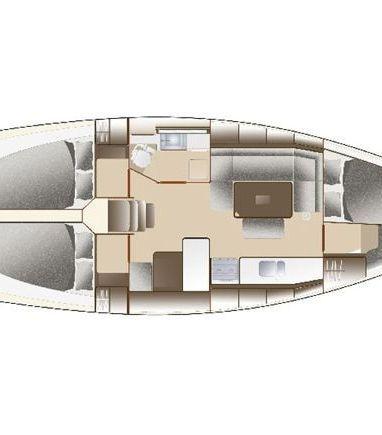 Segelboot Dufour 375 Grand Large · 2012 (3)