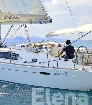 Sailboat Beneteau Oceanis 43 · 2008 (3)
