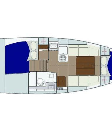 Sailboat Dufour 310 Grand Large · 2019 (3)