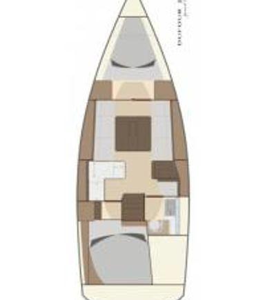 Sailboat Dufour 335 Grand Large · 2013 (3)