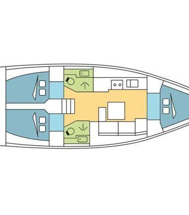 Sailboat Dufour 382 Grand Large · 2016 (3)