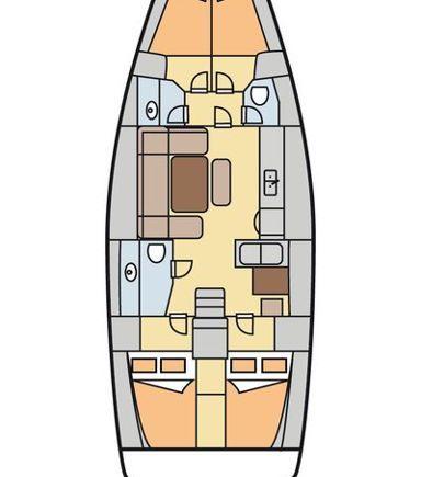 Segelboot Dufour 445 Grand Large · 2012 (3)