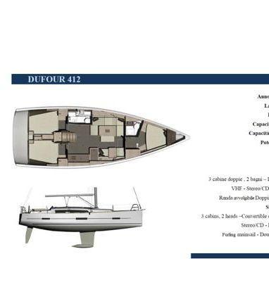 Segelboot Dufour 412 · 2016 (3)