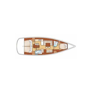 Segelboot Beneteau Oceanis 50 · 2010 (3)
