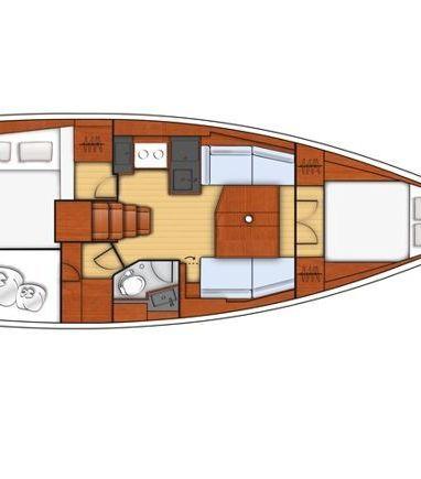 Sailboat Beneteau Oceanis 38.1 · 2019 (3)