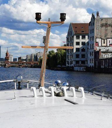 Houseboat VEB Konigstein KB12A · 1980 (3)