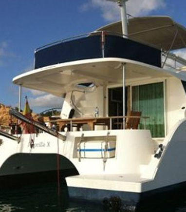 Motor Catamaran Fountaine Pajot Cumberland 43 · 2007 (3)