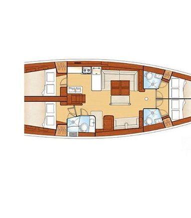 Segelboot Hanse 54 · 2009 (3)