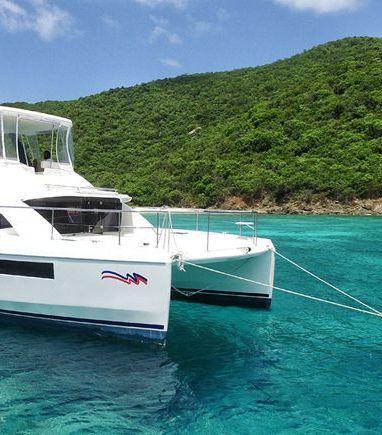 Motor Catamaran Leopard Moorings 433 · 2018 (3)