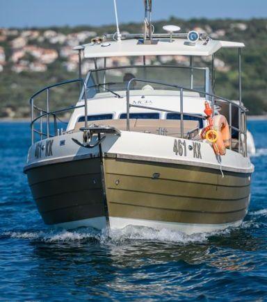 Imbarcazione a motore Sasanka Courier 970 · 2008 (raddobbo 2020) (3)