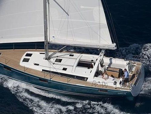 Sailboat Beneteau Oceanis 48 · 2013
