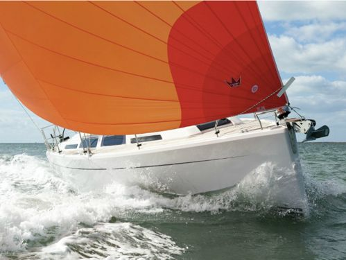 Sailboat Hanse 345 · 2014