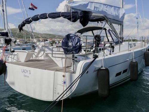 Sailboat Hanse 575 · 2014