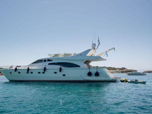 Motorboat Ferretti 680 · 2002