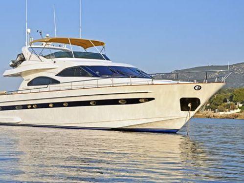 Motorboot Astondoa 72 · 2002