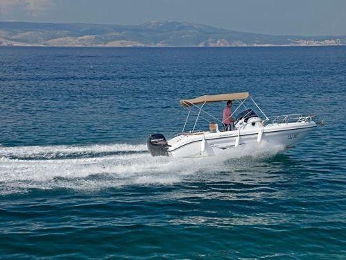 Imbarcazione a motore Ranieri Shadow 22 (2014)