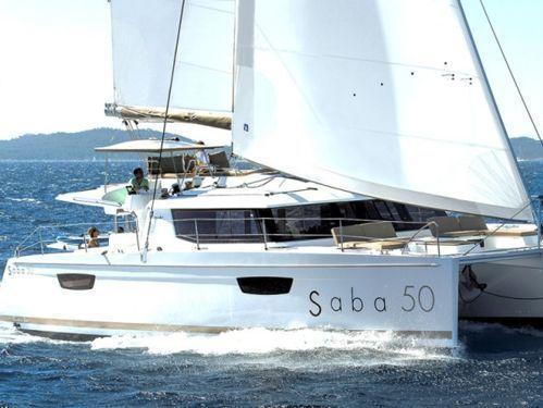 Catamaran Fountaine Pajot Saba 50 · 2018