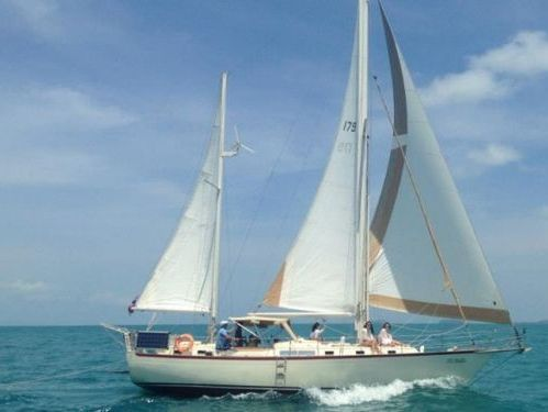 Segelboot Whitby 42 · 1989