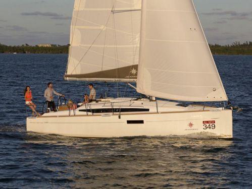 Sailboat Jeanneau Sun Odyssey 349 · 2014