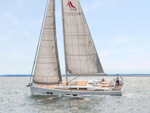 Barca a vela Hanse 548 · 2018