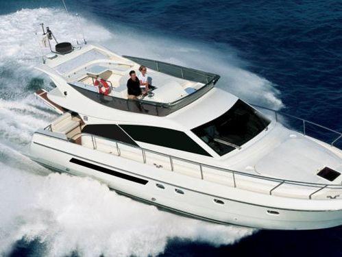 Motorboat Ferretti 43 Fly · 2012