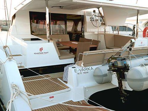 Catamarán Fountaine Pajot Lucia 40 · 2017