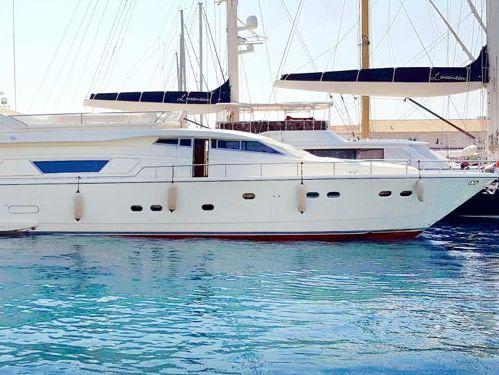 Motorboot Ferretti 76 Fly · 2000