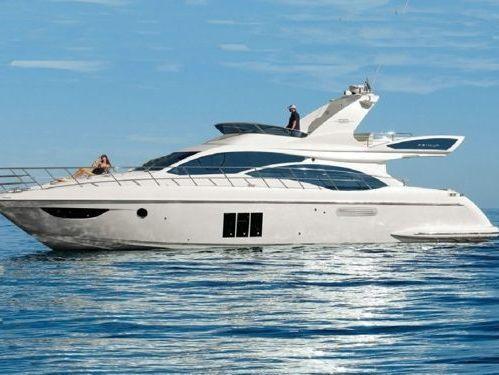 Imbarcazione a motore Azimut 58 (2009)