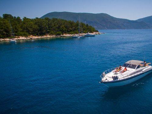 Imbarcazione a motore Mochi Caliari 45 Open (2007)