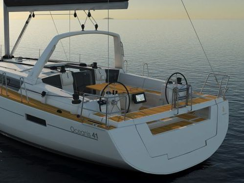 Sailboat Beneteau Oceanis 41 (2017)