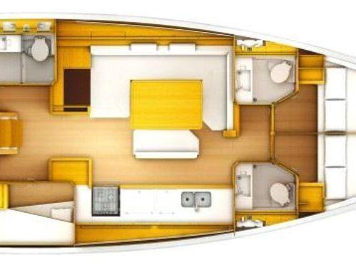 Barca a vela Jeanneau Sun Odyssey 509 (2012)