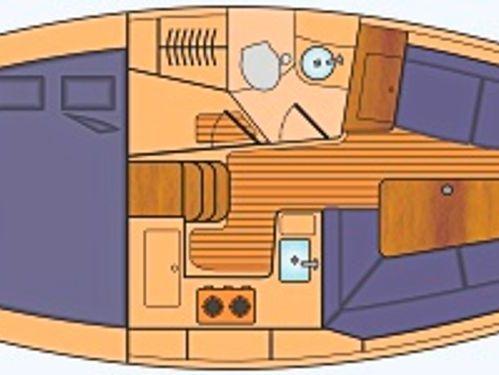 Barca a vela Hunter 320 · 2001