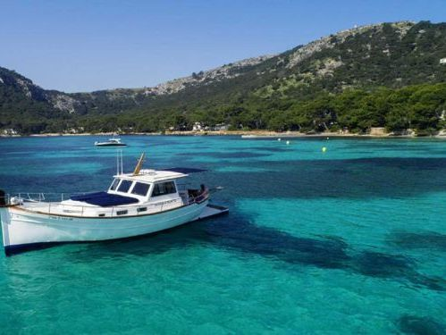 Motorboat Menorquin 120 MU 13 · 2000