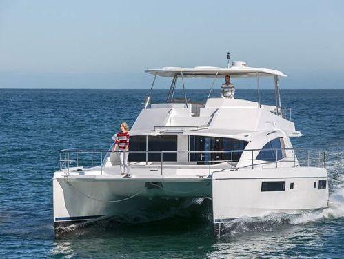 Motor Catamaran Leopard 51PC · 2018