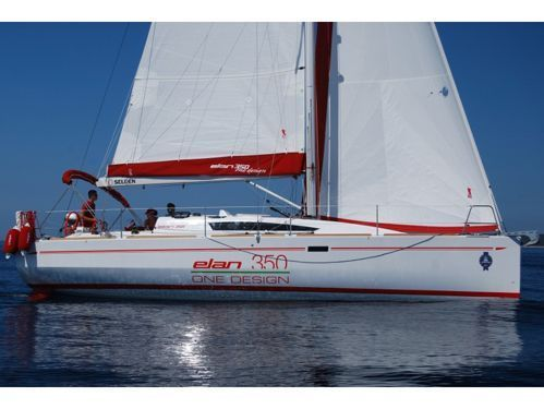 Barca a vela Elan 350 · 2012