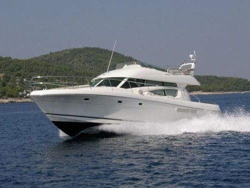 Imbarcazione a motore Jeanneau Prestige 46 Fly (2009)