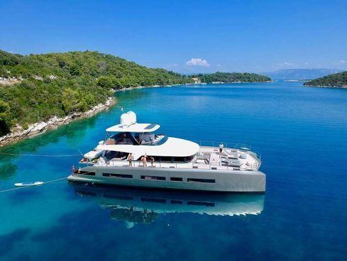 Motor Catamaran Lagoon Seventy 8 · 2018
