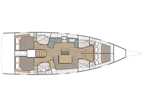 Barca a vela Beneteau Oceanis 461 · 2019