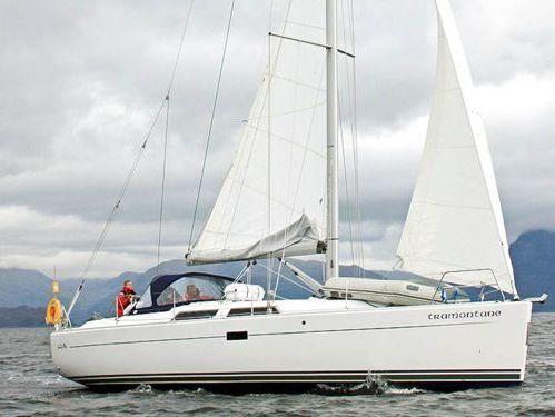 Sailboat Hanse 400 · 2018