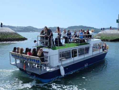 Motorboot Custom Build party boat · 1990