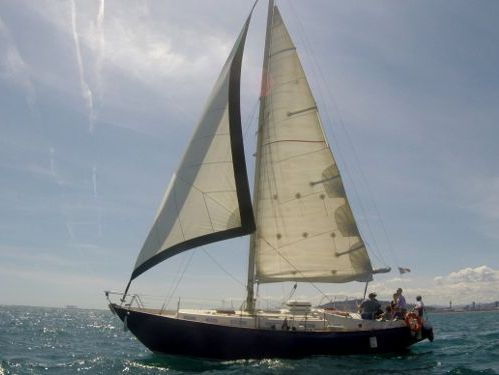 Zeilboot Rival 38 · 1978