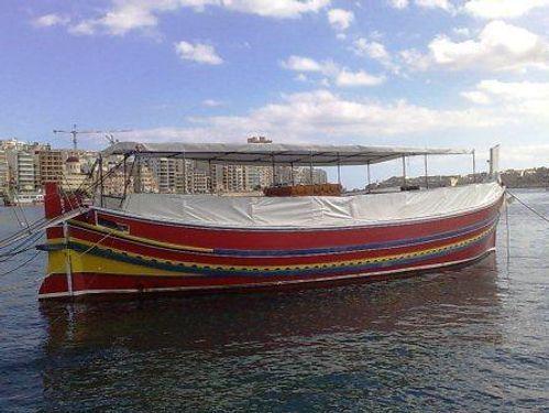 Motorboat luzzu Maltese · 1985