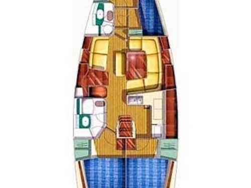 Sailboat Jeanneau Sun Odyssey 43 · 2001
