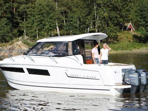 Imbarcazione a motore Jeanneau Merry Fisher 855 (2013)