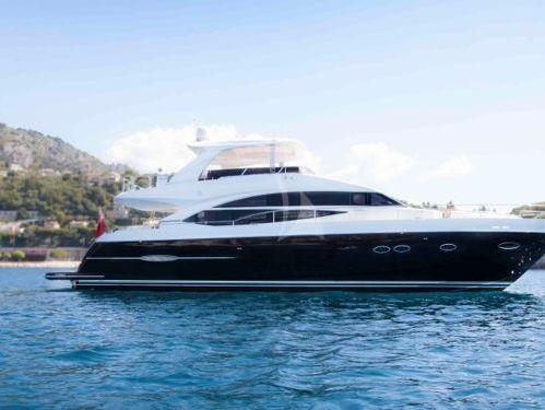 Motorboat Princess V72 · 2011