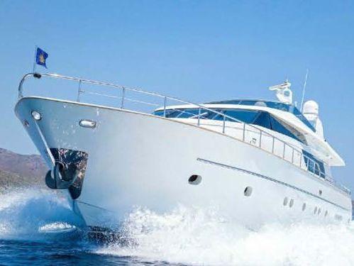 Imbarcazione a motore San Lorenzo 72 Flybridge · 2000