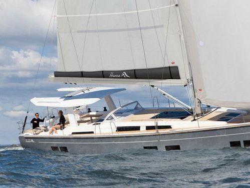 Sailboat Hanse 588 · 2019