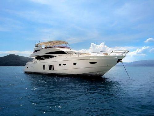 Motorboot Princess 78 (2011)